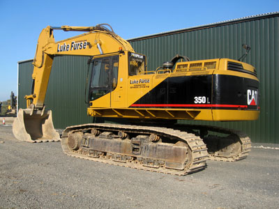 Caterpillar 350L Mass Excavator