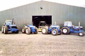 County 1884, County 1454, Ford 9600 & Ford 7700 V8