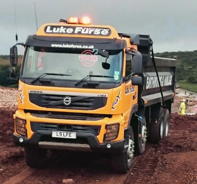 Volvo FMX Tippers for muck away